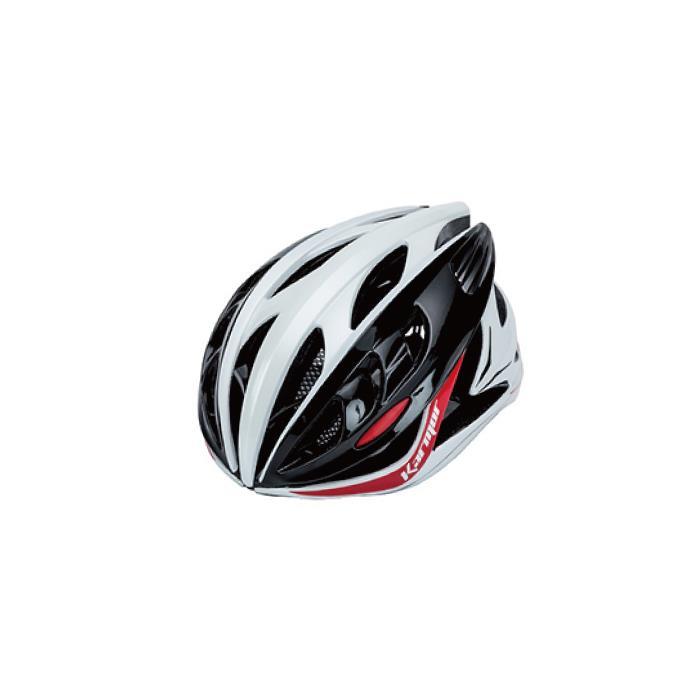 Karmor(カーマー)DITRO ディトロ ホワイト/ブラック/レッド サイズL ヘルメット 【自転車】