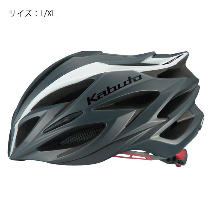OGK(オージーケー) STEAIR ステアー ラインマットホワイト サイズL/XL ヘルメット