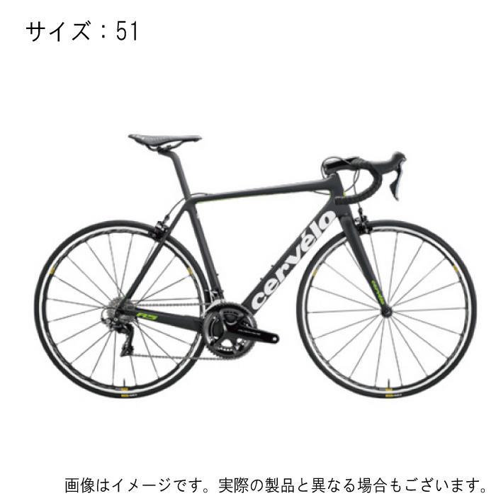 Cervelo(サーべロ) R5 Disc DURA-ACE デュラエース Di2 9170 ブラック/グリーン サイズ51 完成車【自転車】