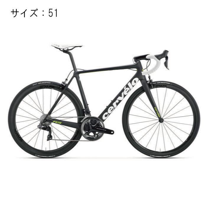 Cervelo(サーべロ) R5 DURA-ACE デュラエース Di2 9150 ブラック/グリーン サイズ51 完成車【自転車】