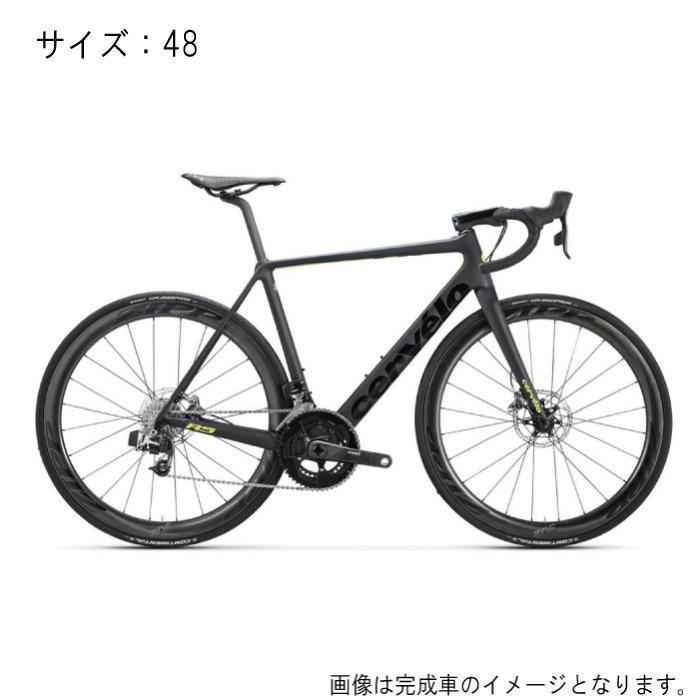 Cervelo(サーべロ) R5 Disc ブラック/フルオイエロー サイズ48 フレームセット【自転車】
