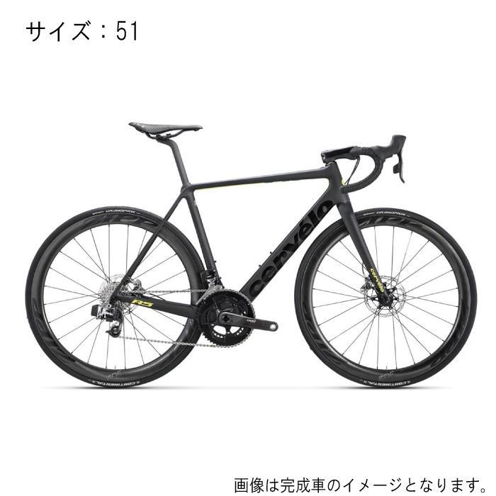 Cervelo(サーべロ) R5 Disc ブラック/フルオイエロー サイズ51 フレームセット【自転車】