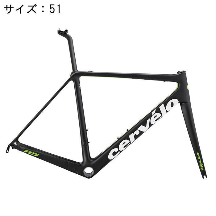 Cervelo(サーべロ) 2018モデル R5 ブラック/グリーン サイズ51(171-176cm)フレームセット