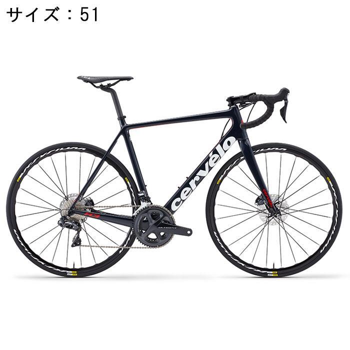 Cervelo(サーべロ) 2018モデル R3 Disc R8070 ネイビー/レッド サイズ51(170-175cm)ロードバイク