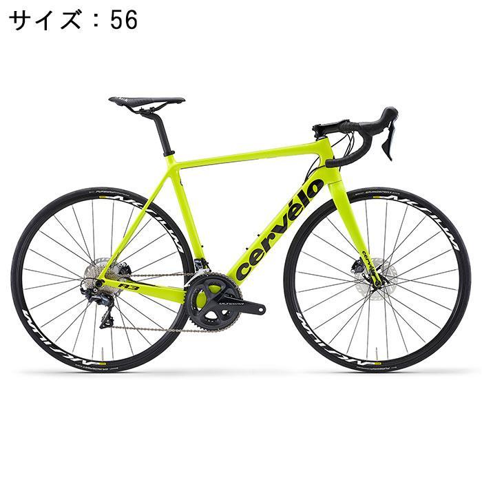 Cervelo(サーべロ) 2018モデル R3 Disc R8070 フルオイエロー/ブラック サイズ56(179-184cm)ロードバイク