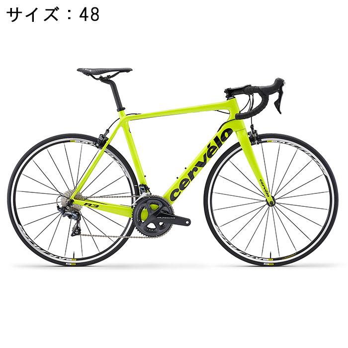 Cervelo (サーベロ) R3 R8000 フルオイエロー/ブラック サイズ48(166.5-171.5cm) ロードバイク