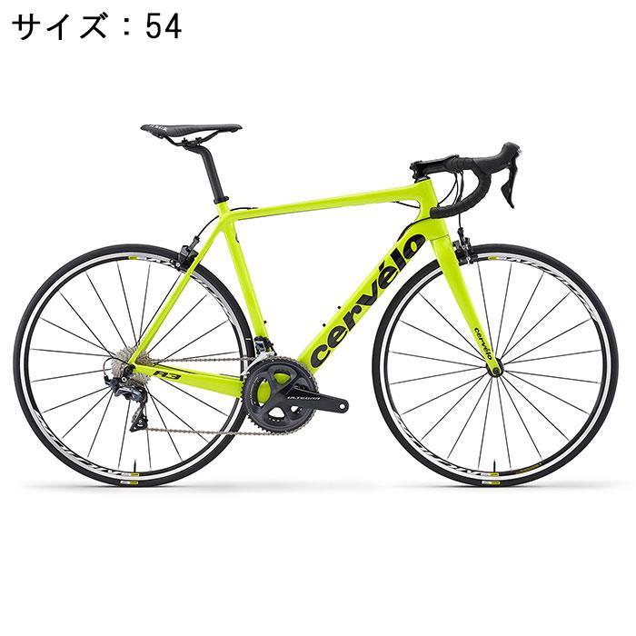 Cervelo Cervelo (サーベロ) 2018モデル R3 R3 R8000 フルオイエロー 2018モデル/ブラック サイズ54(175-180cm)ロードバイク, こむろのキモノ:2f14419b --- waggleproshop.com