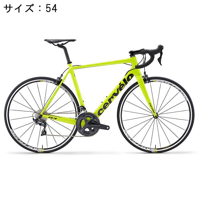 Cervelo (サーベロ) R3 R8000 フルオイエロー/ブラック サイズ54(175-180cm) ロードバイク