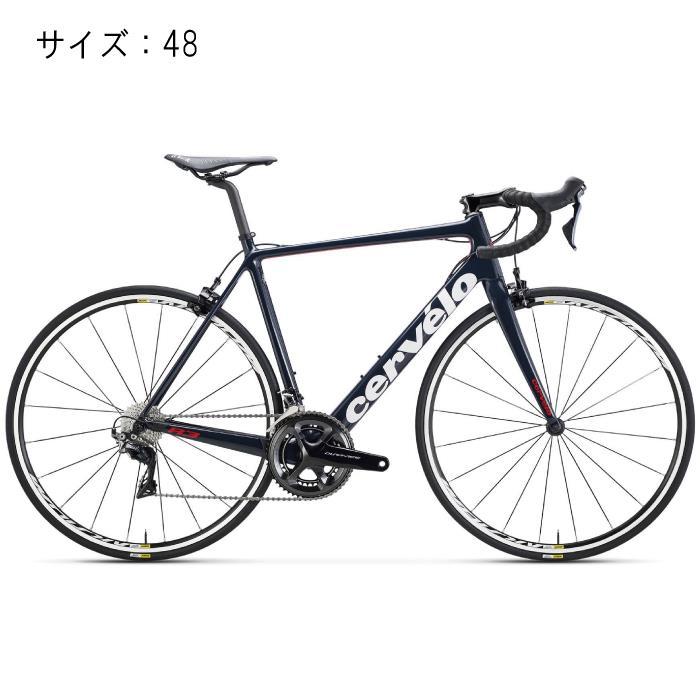 Cervelo(サーべロ) 2018モデル R3 R8050 ネイビー/レッド サイズ48(166-171cm)ロードバイク