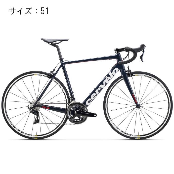 Cervelo(サーべロ) 2018モデル R3 R8050 ネイビー/レッド サイズ51(170-175cm)ロードバイク
