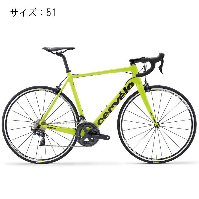 Cervelo(サーべロ) 2018モデル R3 R8050 フルオイエロー/ブラック サイズ51(170-175cm)ロードバイク