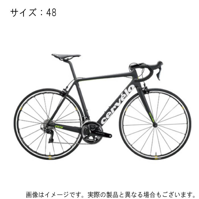 Cervelo(サーべロ) R5 Disc DURA-ACE デュラエース Di2 9170 ブラック/グリーン サイズ48 完成車【自転車】