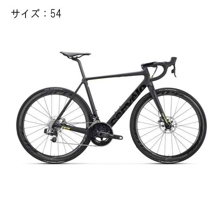 Cervelo(サーべロ) R5 Disc E-Tap ブラック/フルオイエロー サイズ54 完成車【自転車】