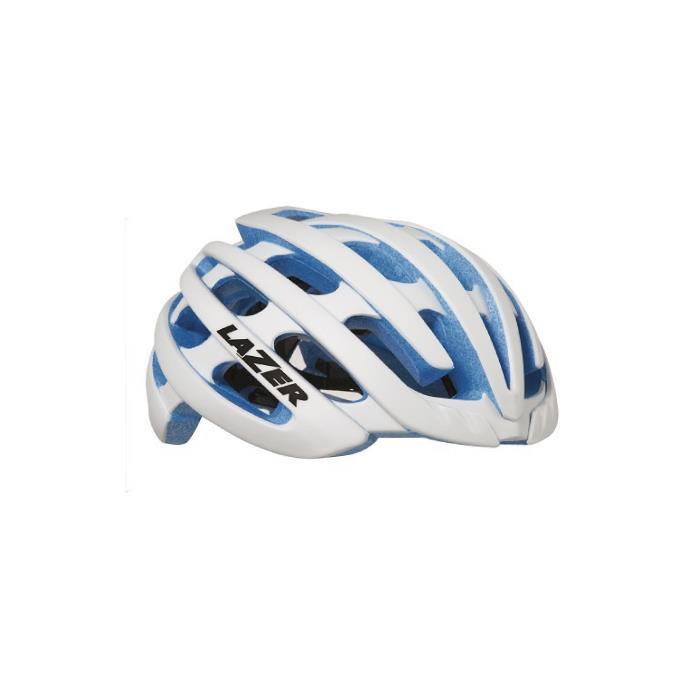 LAZER (レーザー) Z1 ホワイト/ブルーEPS サイズL ヘルメット 【自転車】