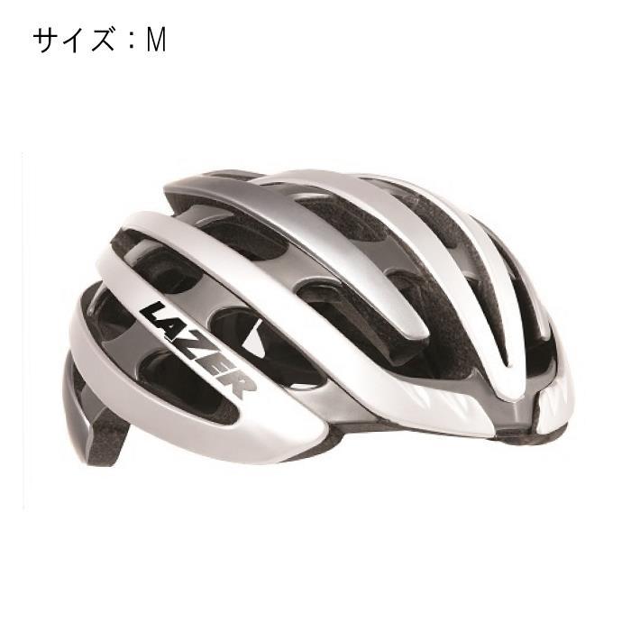 LAZER (レーザー) Z1 ホワイト/シルバー サイズM ヘルメット 【自転車】