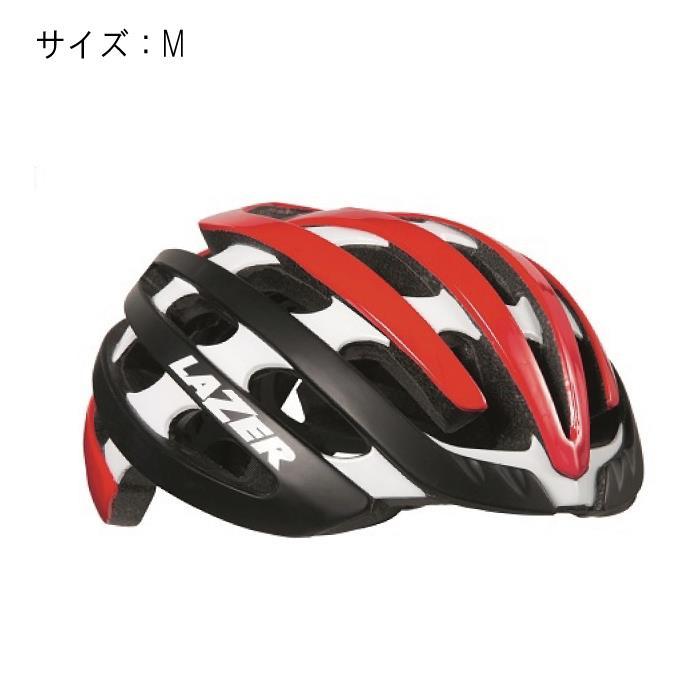 LAZER (レーザー) Z1 マットブラック/レッド サイズM ヘルメット 【自転車】