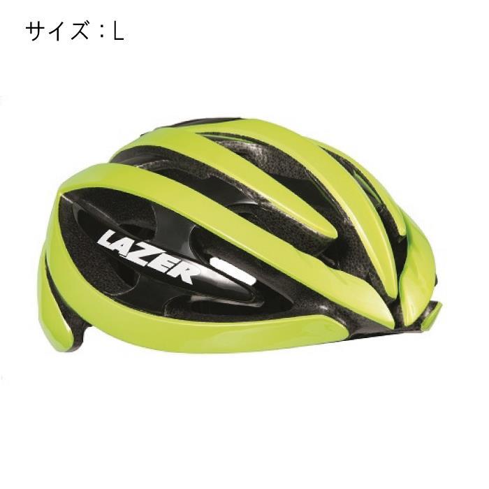 LAZER (レーザー) Genesis ジェネシス フラッシュイエロー サイズL ヘルメット