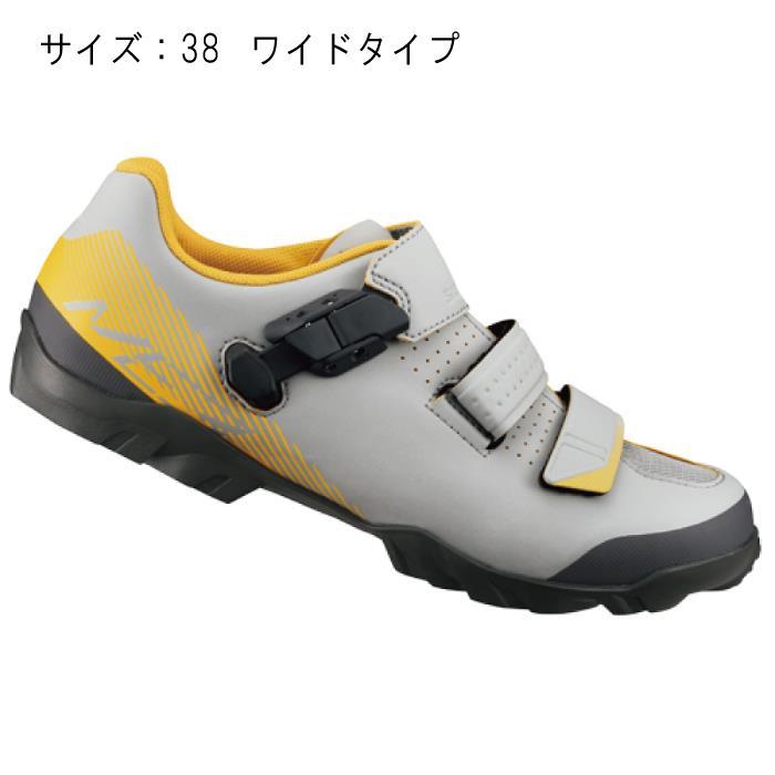 SHIMANO (シマノ) ME300MGE グレー/イエロー サイズ38 (23.8cm) シューズ