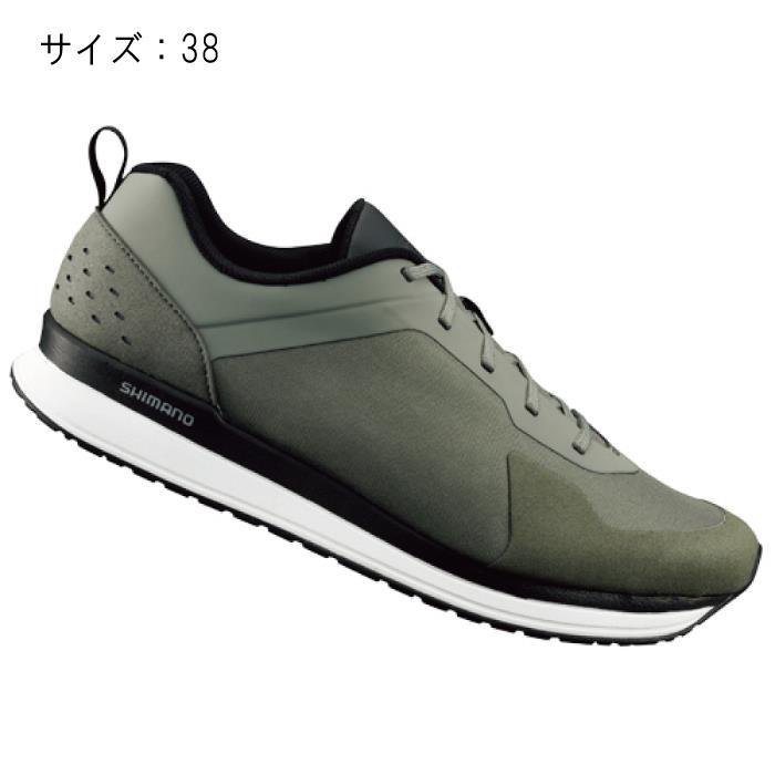 SHIMANO (シマノ) CT500MO オリーブ サイズ38 (23.8cm) シューズ