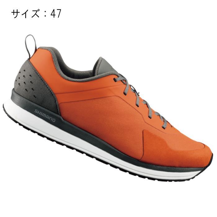 SHIMANO (シマノ) CT500MR オレンジ サイズ47 (29.8cm) シューズ