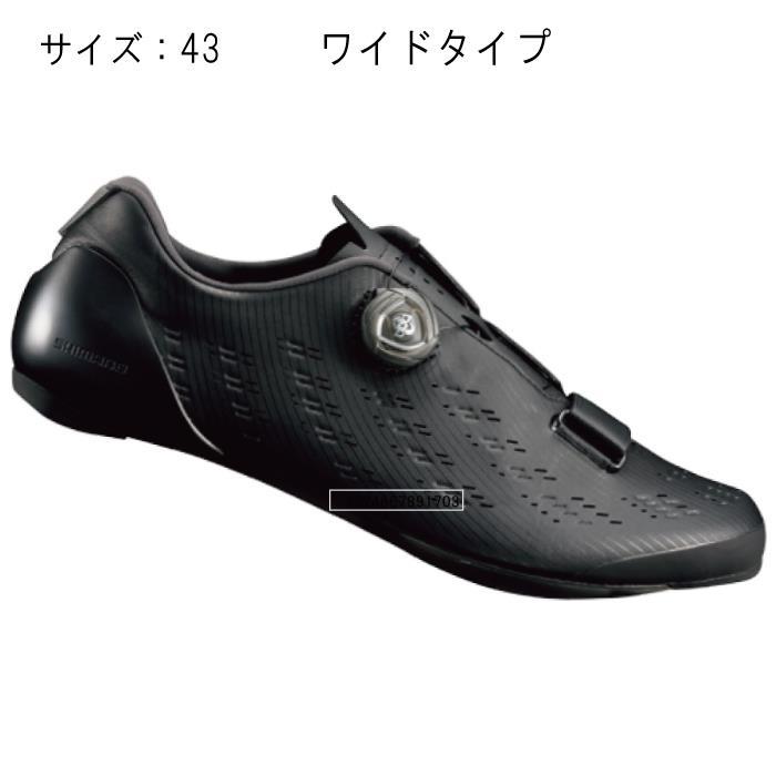 SHIMANO (シマノ) RP901LE ブラック サイズ43 (27.2cm) シューズ