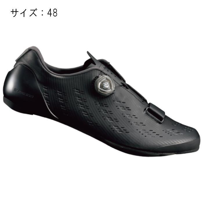 SHIMANO (シマノ) RP901L ブラック サイズ48 (30.5cm) シューズ