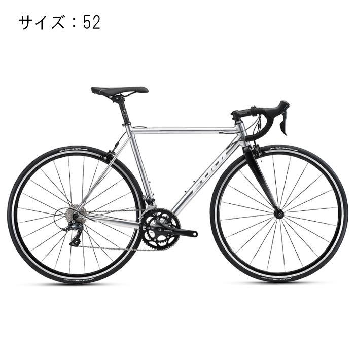 ロードバイク FUJI (フジ) 2018 NAOMI ポリッシュアルミニウム サイズ52