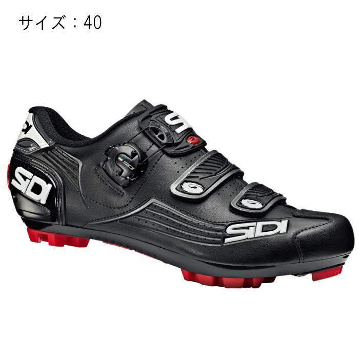 SIDI(シディ) MTB TRACE ブラック/ブラック サイズ40 ビンディングシューズ