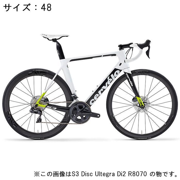 Cervelo (サーベロ)S3 Disc ULTEGRA R8020 11S ホワイト/ブラック サイズ48 完成車【自転車】