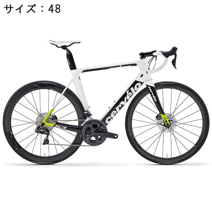 Cervelo (サーベロ)S3 Disc ULTEGRA Di2 R8070 11S ホワイト/ブラック サイズ48完成車【自転車】