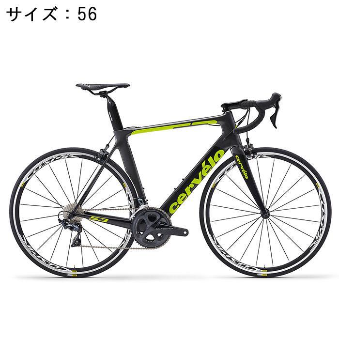 Cervelo (サーベロ)2018モデル S3 ULTEGRA R8000 11S グレー/ブラック 56(179-184cm)ロードバイク