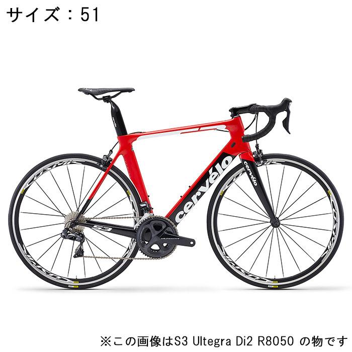 Cervelo (サーベロ)S3 ULTEGRA R8000 11S レッド/ブラック サイズ51完成車【自転車】