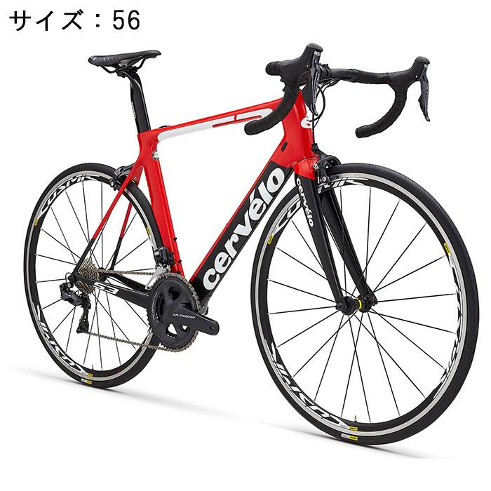 Cervelo(サーベロ)S3ULTEGRAR800011Sレッド/ブラックサイズ56完成車【自転車】