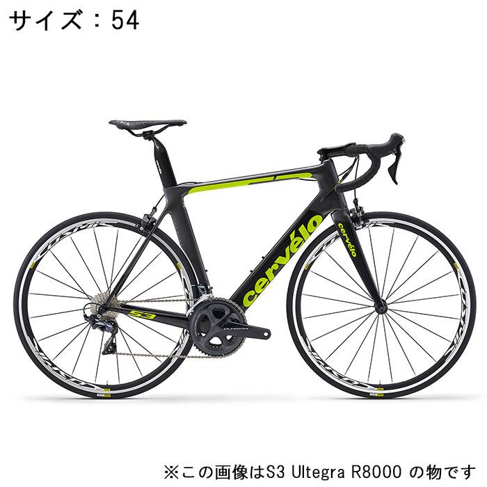 Cervelo (サーベロ)2018 S3 ULTEGRA Di2 R8050 11S グレー/ブラック 54(175-180cm)ロードバイク