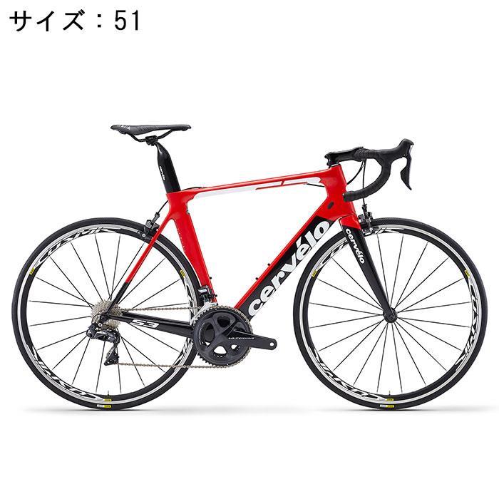 Cervelo (サーベロ)2018 S3 ULTEGRA Di2 R8050 11S レッド/ブラック 51(170-175cm)ロードバイク