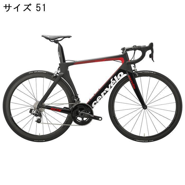 Cervelo (サーベロ)S5 SRAM Red E-Tap 11S ブラック/レッド サイズ51 完成車【自転車】