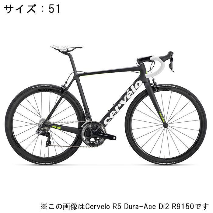 Cervelo (サーベロ)2018モデル R5 ULTEGRA R8000 ブラック/グリーン サイズ51(171-176cm)ロードバイク