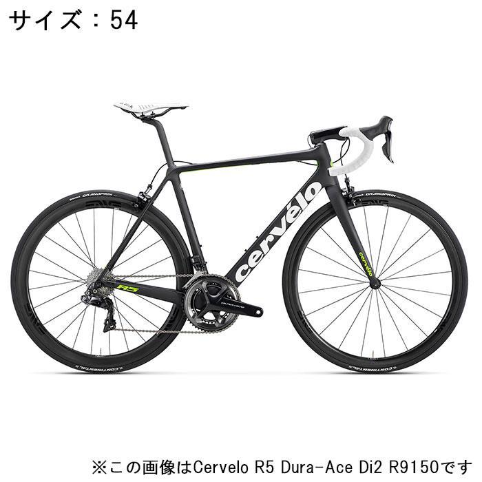 Cervelo (サーベロ)2018モデル R5 ULTEGRA R8000 ブラック/グリーン サイズ54(175-180cm)ロードバイク