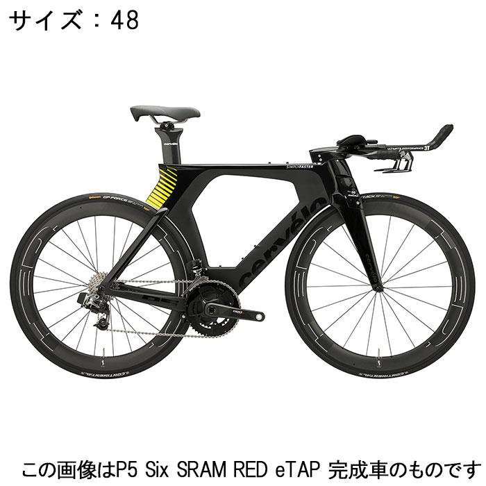 Cervelo (サーベロ)P5-Six ULTEGRA R8060 Di2 11S ブラック/フルオロイエロー サイズ48完成車【自転車】