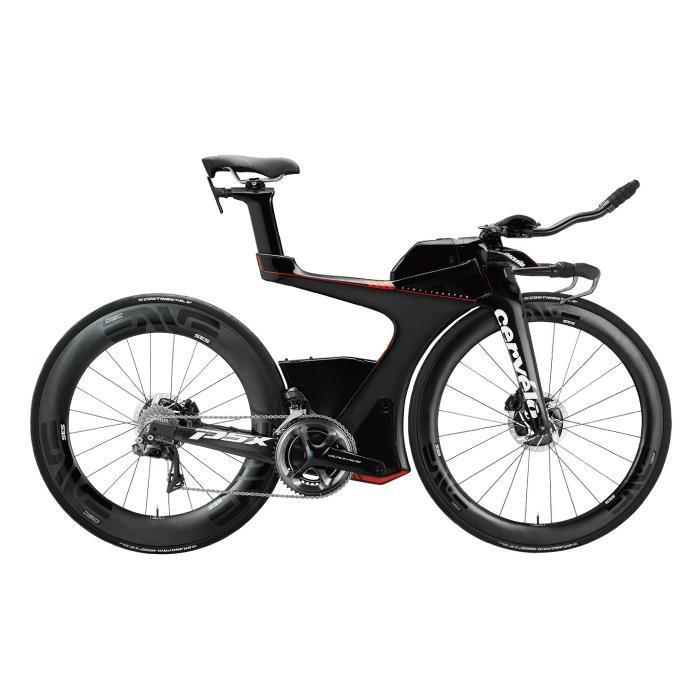 Cervelo (サーベロ)2018モデル P5X DURA-ACE R9180 ブラック/レッドサイズ54 (175-180cm)ロードバイク
