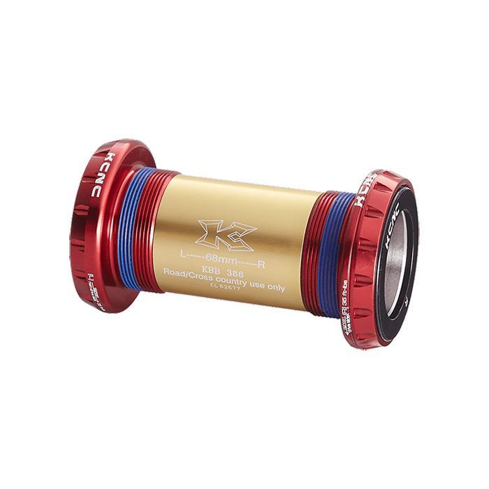 KCNC (ケーシーエヌシー) KBB386 レッド ボトムブラケット