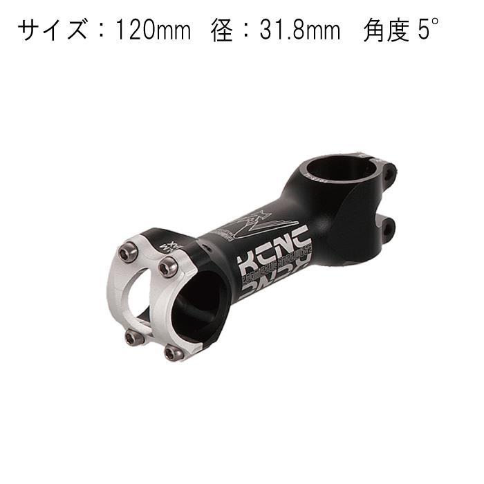 KCNC (ケーシーエヌシー) チームイシュー 120mm 31.8mm 5° ブラック ステム