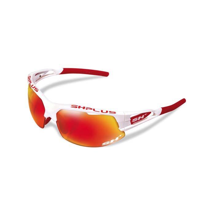 SH+(エスエイチプラス)RG4750 ホワイト/レッド (レンズカラー レッド) アイウェア