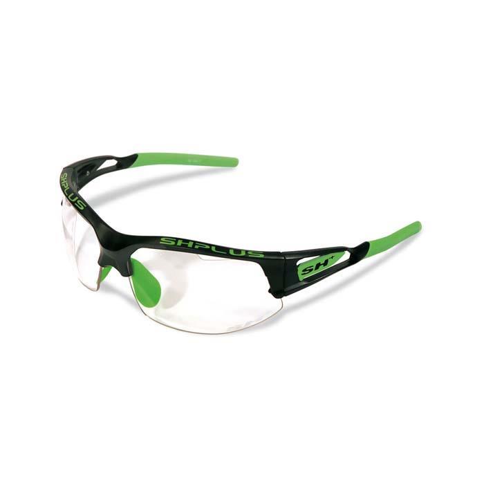 SH+(エスエイチプラス)RG4750 REACTIVE-PRO ブラック/グリーン アイウェア