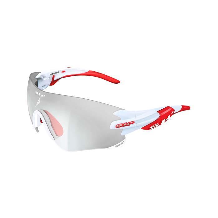 SH+(エスエイチプラス)RG5200 REACTIVE FLASH ホワイト/レッド アイウェア
