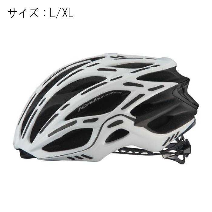 OGK(オージーケー) FLAIR フレアー マットホワイト サイズL/XL ヘルメット