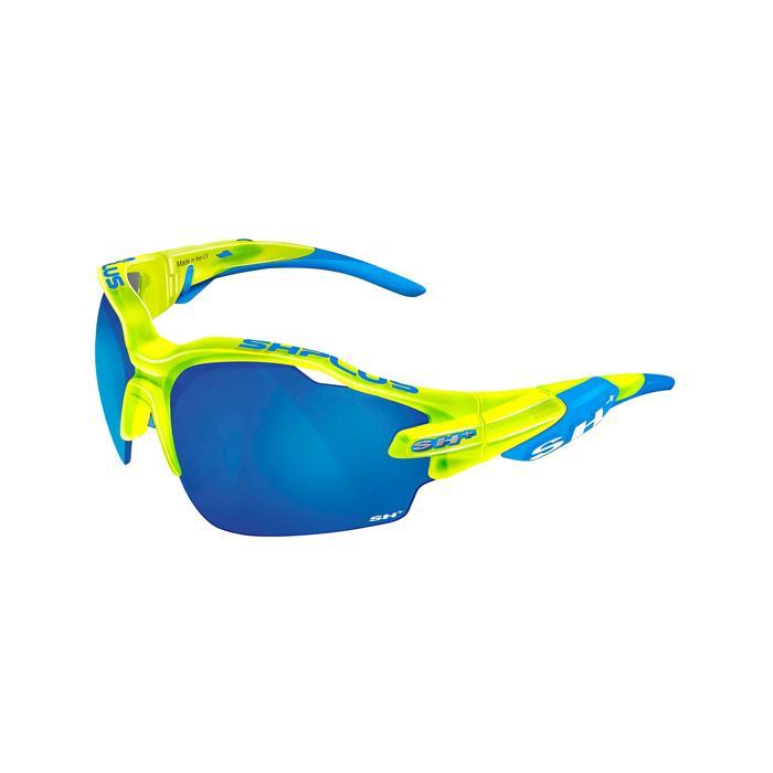 SH+(エスエイチプラス)RG5000 WX クリスタルイエロー/ブルー (レンズカラー ブルー) アイウェア
