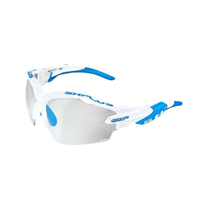 SH+(エスエイチプラス)RG5000 REACTIVE-PRO クリスタルホワイト/ブルー アイウェア