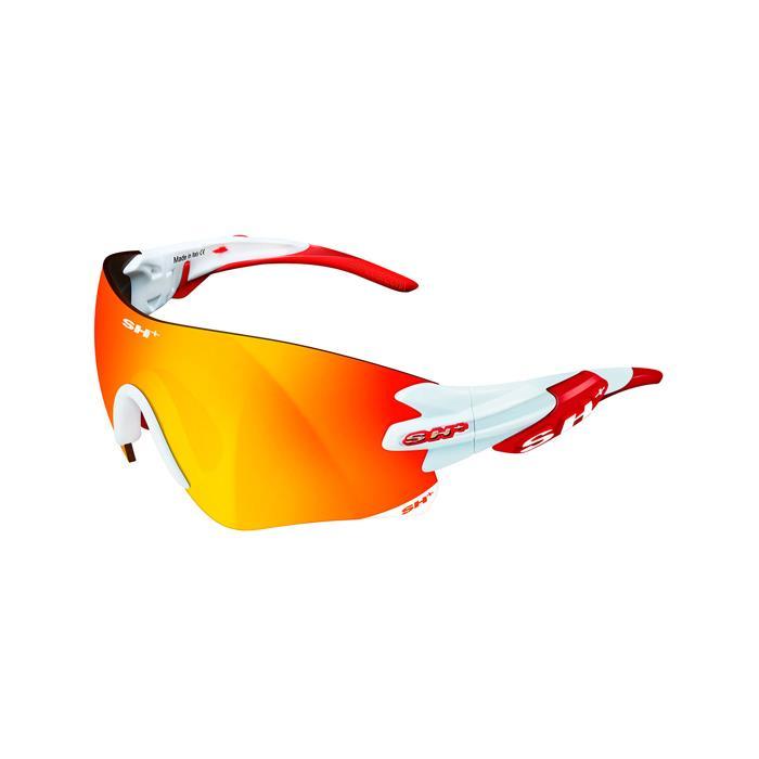 SH+(エスエイチプラス)RG5200 ホワイト/レッド (レンズカラー レッド) アイウェア