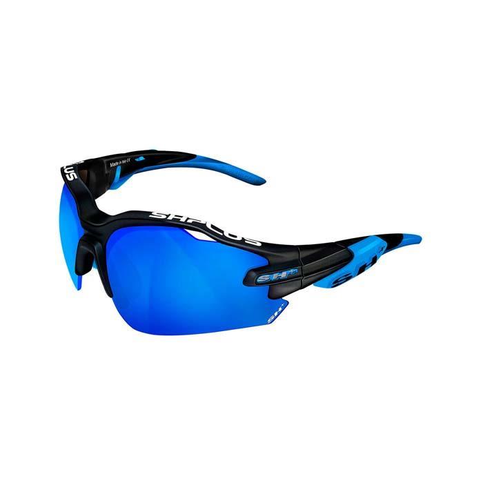 SH+(エスエイチプラス)RG5000 ブラック/ブルー (レンズカラー ブルー) アイウェア